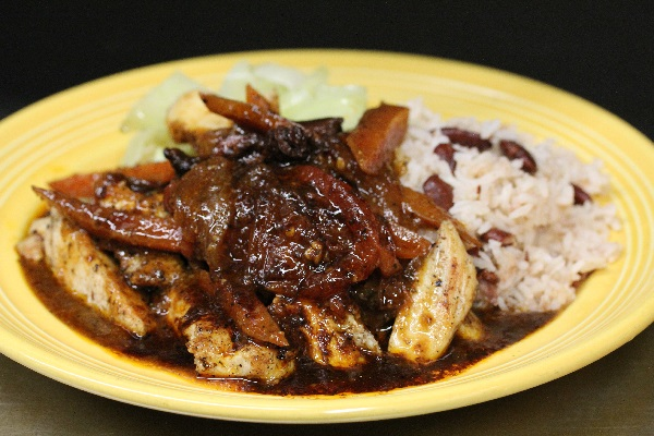 Boneless Brown Stew Chicken