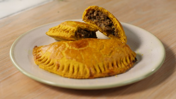 Delicious Jamaican Beef Patties
