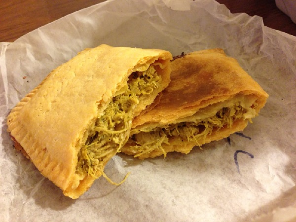 Delicious Jamaican Chicken Patties