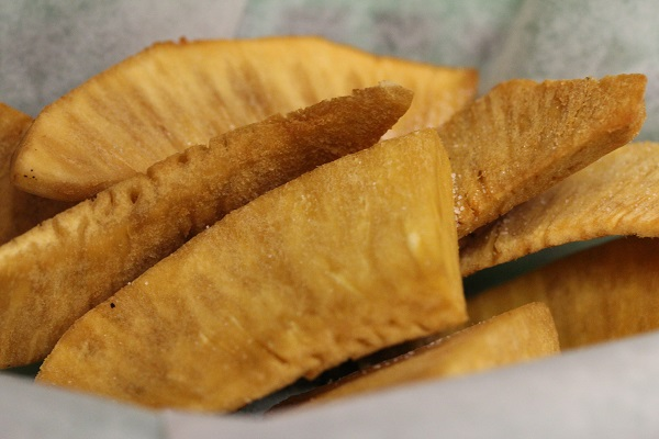 Jamaican Fried Breadfruit Chips