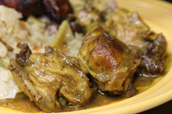 Spicy Jamaica Curry Chicken