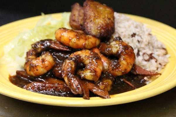 Spicy Jamaica Curry Shrimp
